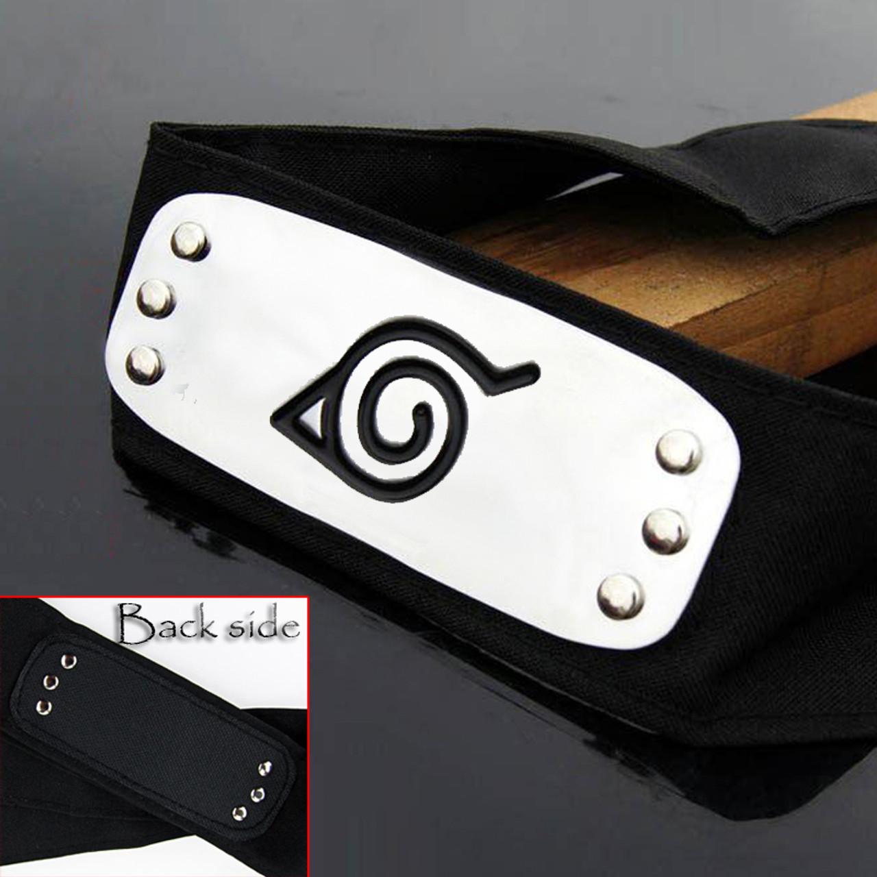 Naruto Sasuke Shippuden Anime Hidden Leaf Village Headband Protector