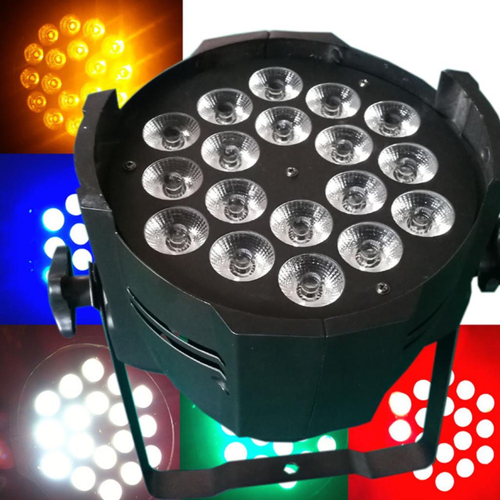 MOS Par- 18 x 15 Watts LED Par RGBWA
