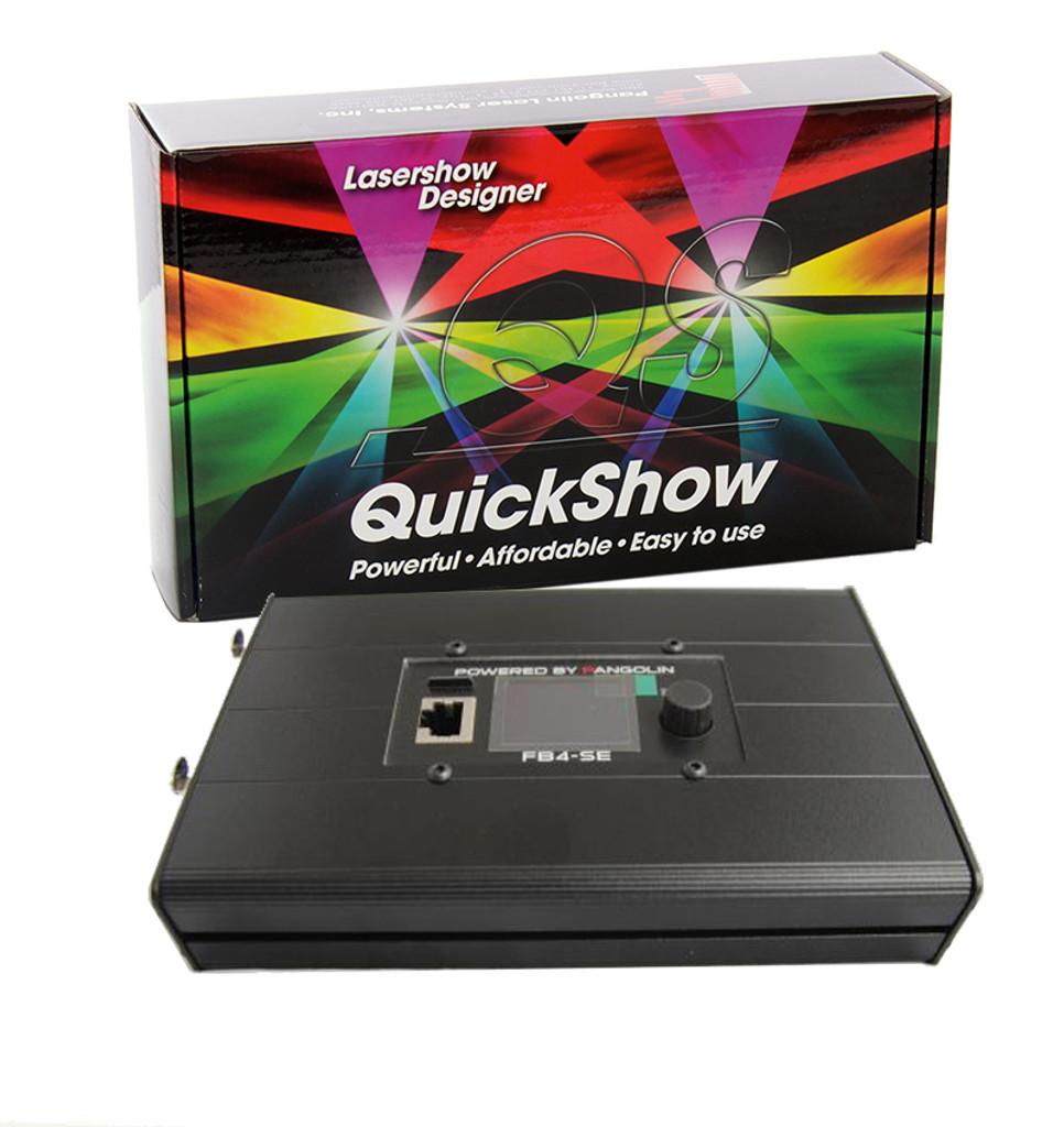 Pangolin FB4-QSENC ILDA And DMX Interface With Quickshow