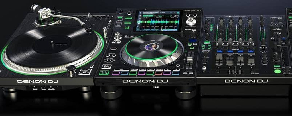 Awesome new Denon DJ decks