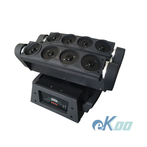 8 Lens RGB Fat-Beam Moving Head Spider Laser
