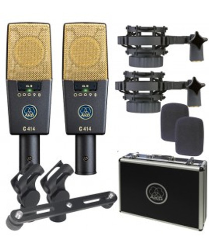 AKG C414 XLIIST Matched Pair