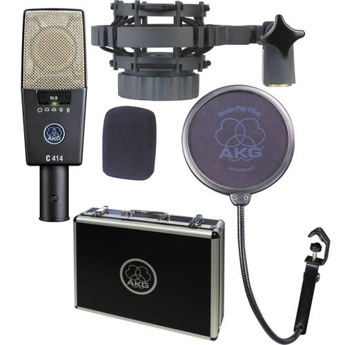 AKG C414XLS Condenser Microphone Studio Multipattern Condensor Mic