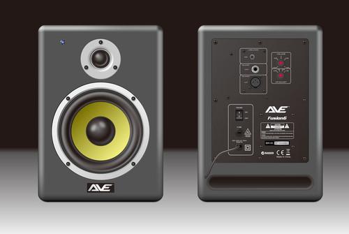 AVE Fusion6 Powered Studio Monitor