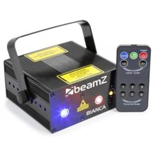 BeamZ Bianca Double Laser 330mW RGB Gobo IRC
