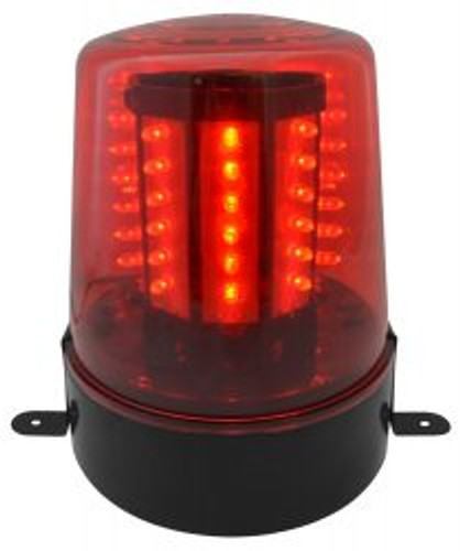 Beamz LED Beacon-Red Police Light Red