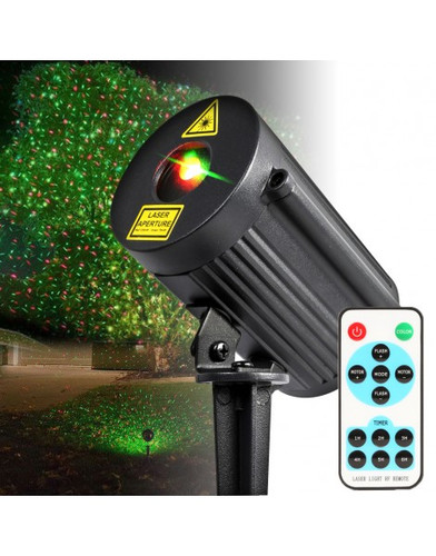 Beamz Outdoor-Laser IP65 Garden Laser Effect with Timer