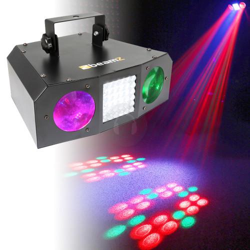 Beamz Uranus LED DJ Effect Light with Strobe