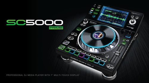 Denon DJ SC5000 Prime: Professional DJ Media Player