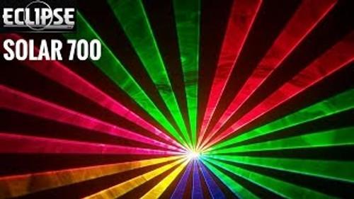 Eclipse Solar 700-SD RGB Animation Laser