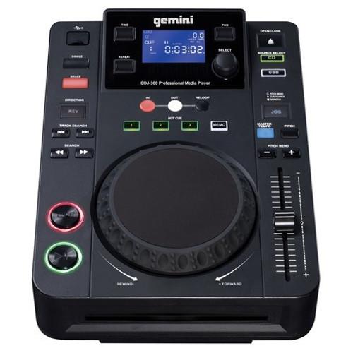 Gemini CDJ-300 DJ CD Player with USB