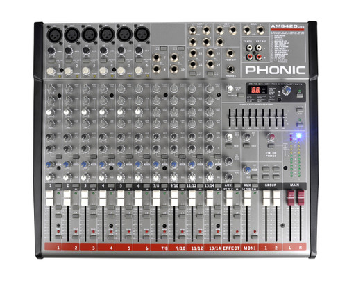 Phonic AM 642D USB