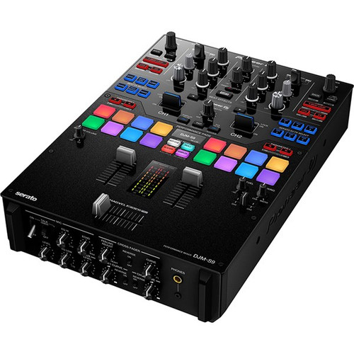 Pioneer DJMS9 Professional 2-Channel Battle Mixer for Serato DJ (Black)