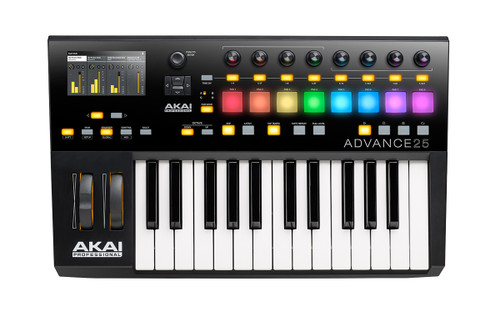 Akai Advance 25 | Virtual Instrument Production Controller