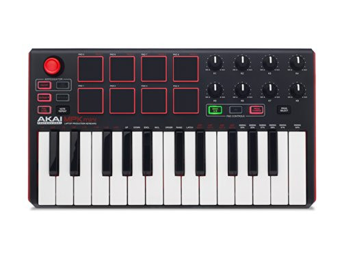 Akai MPKMINI MK2 25 Key USB MIDI Keyboard & Pad Controller