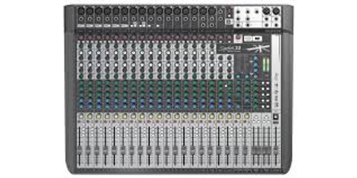 Soundcraft Signature 22 PA Mixer 22 Input with USB and Lexicon Effects