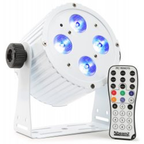 Beamz BAC404W Hex Colour LED Par Can – White
