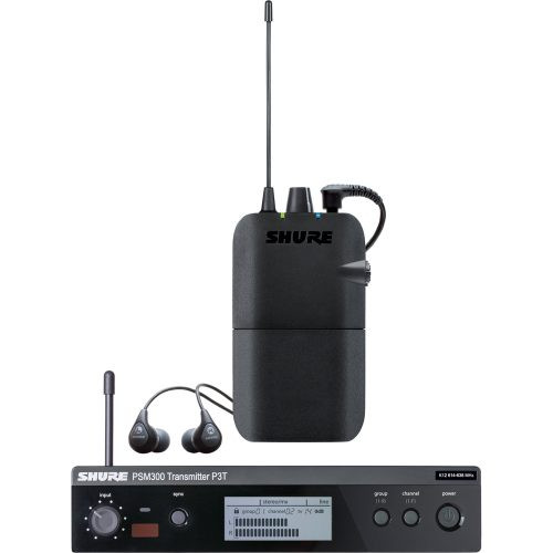 Shure P3TR112GR IEM Wireless Monitoring System