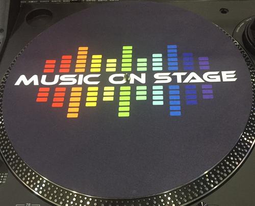 Slip Mats Music On Stage