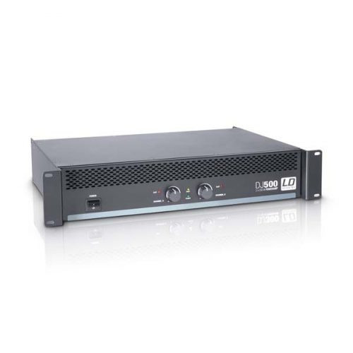 LD Systems DJ500 Power Amplifier 2 x 250 W 4 Ohms