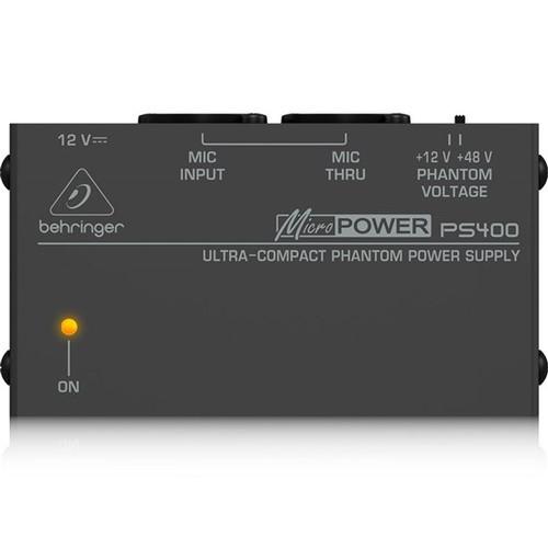Behringer Micropower PS400 Phantom Power Supply