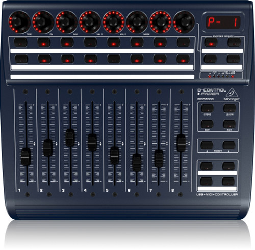 Behringer B-Control BCF2000 Controller w/ Motorized Faders