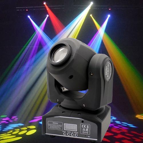 Twister 70W RGBW LED Moving Head Stage Light DMX 512