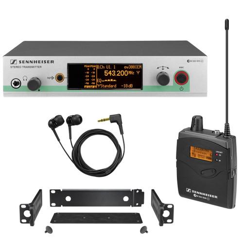 Sennheiser EW300 G3-A IEM System  (B Band, 566-608 MHz)