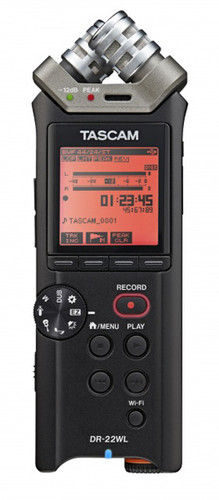 Tascam DR-22WL Portable Field Recorder with WiFi