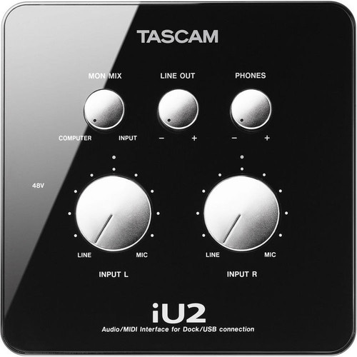 Tascam IU-2 Audio MIDI Interface for iOS Devices