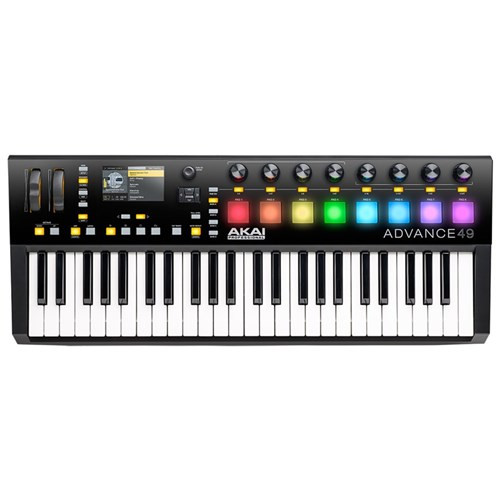 Akai Advance 49 Keyboard w/ High-Res Colour Screen