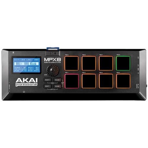 Akai MPX8 SD Sample Pad Controller w/ USB & MIDI