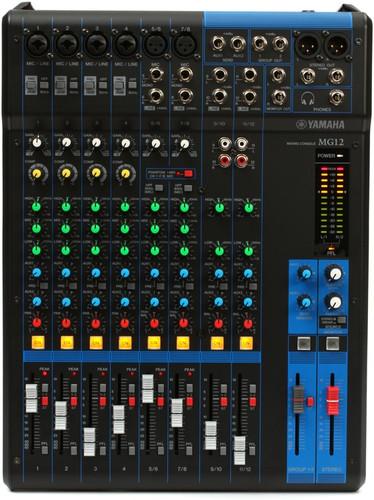 Yamaha MG12 12 Input Mixer