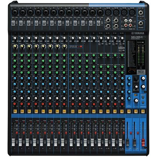 Yamaha MG20XU 20 Input Mixer w/ FX & USB Audio Interface