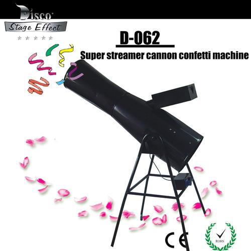 M.O.S Super Streamer Cannon Confetti Machine With Flight Case