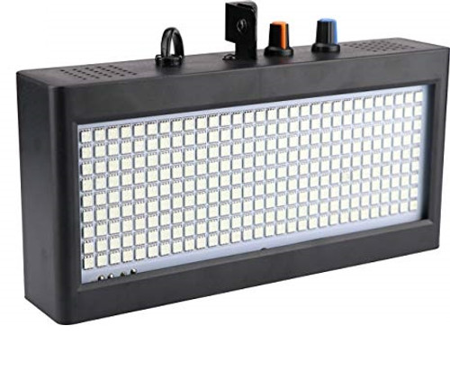 MOS 180 LEDs Strobe Flash Light Portable Auto Running Sound Control Speed Adjustable for Stage