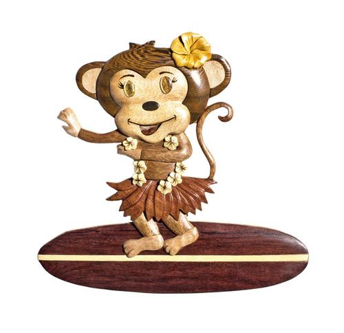 Surfer Monkey Girl