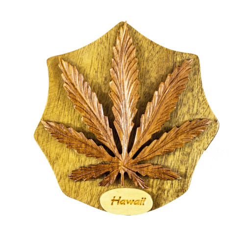 Cannabis Leaf - Puzzle Box