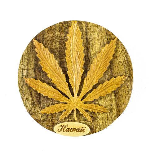 Cannabis Leaf II - Puzzle Box
