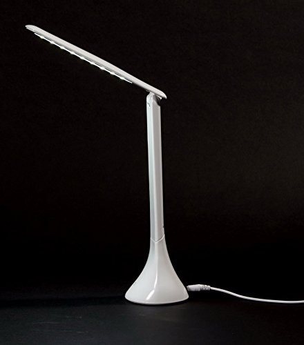Diamond Life Led Folding Desk Lamp Eye Caring Dimmable Table Bedroom Reading Touch