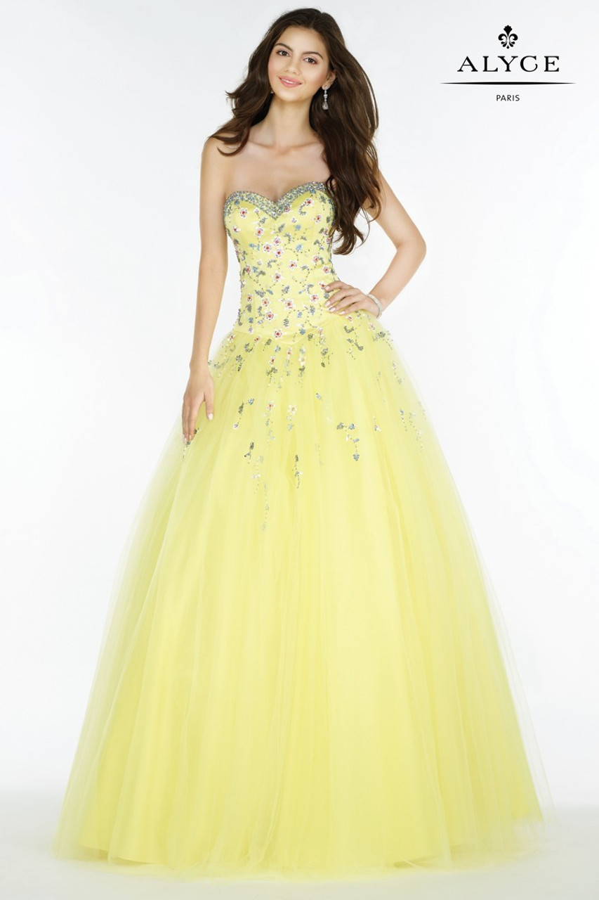 Tulle Ball Gown by Alyce Paris 1234