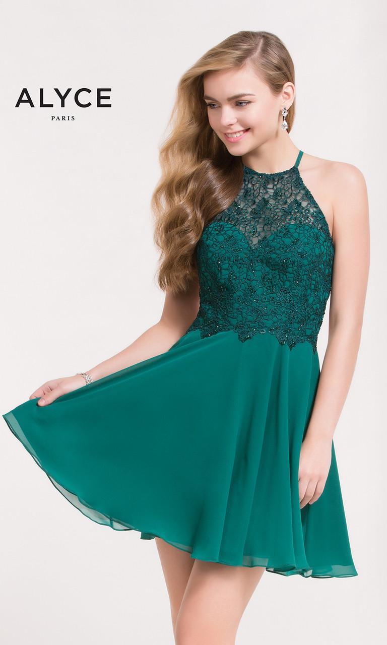 Halter Homecoming Dresses