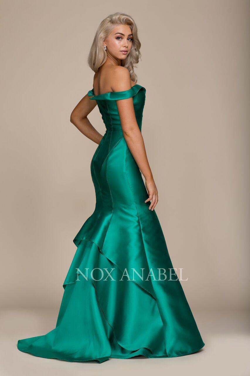 Off The Shoulder Mermaid Dress (NA-C004)