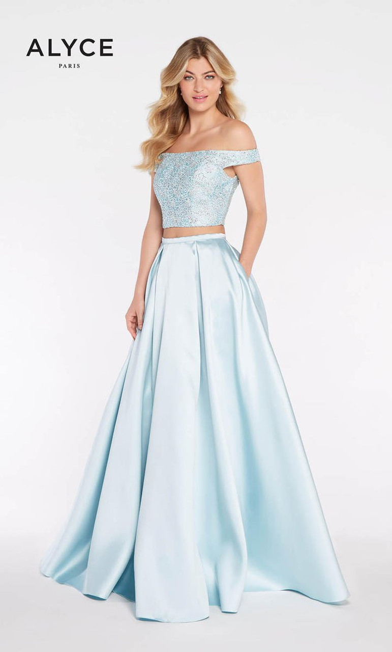 Alyce Paris 1276 Two Piece Ball Gown