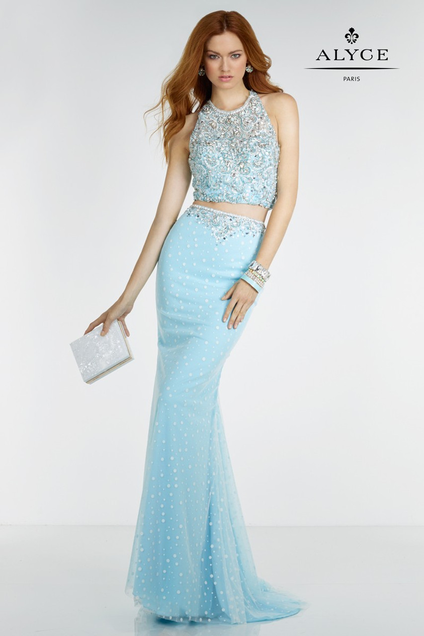 Alyce Paris 6617 Two-Piece Prom Dress - Prom-Avenue