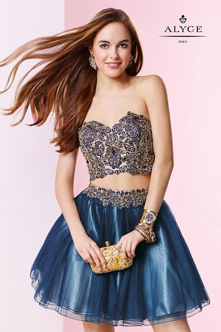 Alyce Paris 4433 Two Piece Dress