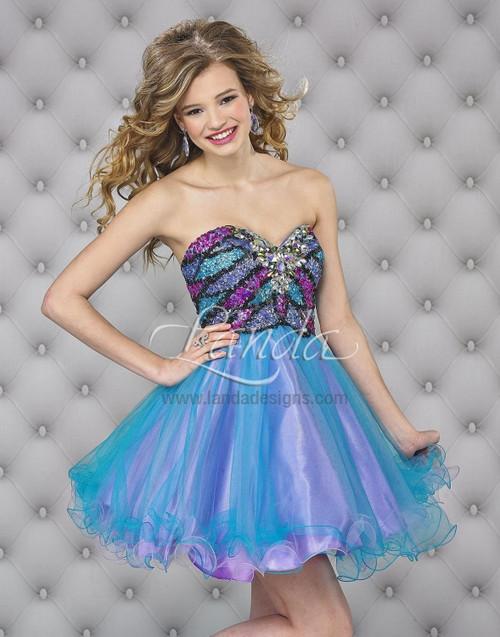 Landa Splash E 402  cocktail dress
