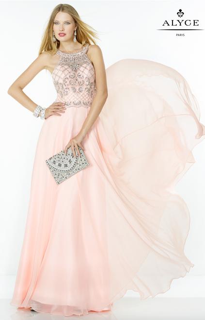 Alyce Paris 1067 Embellished Top Prom Dress