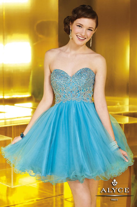 Alyce Sweet 16 Style 3570 cocktail dress