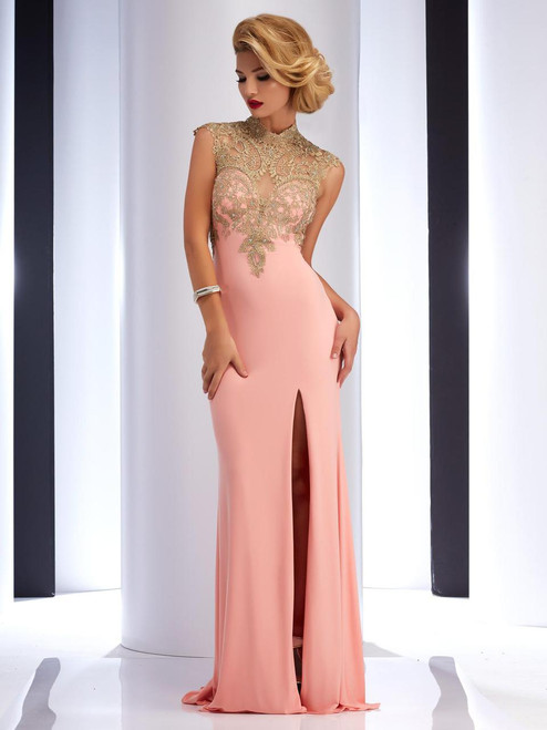 Open Back Evening Gown by Clarisse 2803